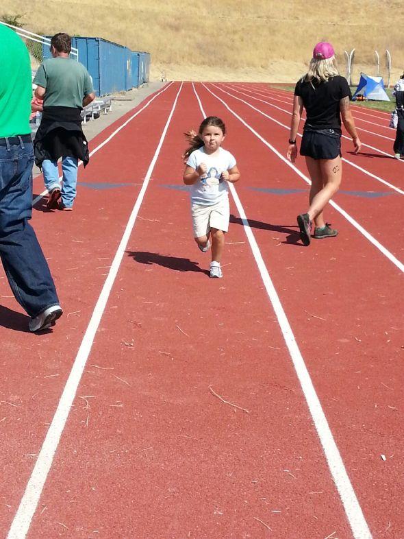 Ashleigh running